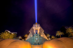 Hotel e casino de Luxor Las Vegas Imagens de Stock