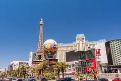 Hotel e casino de Paris Las Vegas em Las Vegas, Nevada Imagem de Stock Royalty Free
