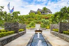 Hotel e recurso intercontinentais, Fiji fotografia de stock royalty free