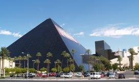 Hotel e ricorso di Luxor. Fotografia Stock