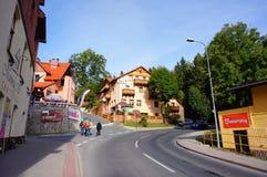 Hotel e ristorante fotografia stock