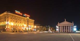 Hotel e teatro Foto de Stock