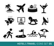 Hotel e viaggio Immagini Stock Libere da Diritti