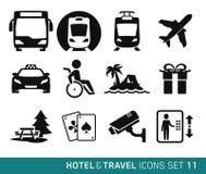 Hotel e viaggio Immagine Stock