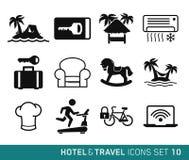 Hotel e viaggio Fotografia Stock Libera da Diritti