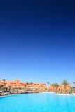 Hotel egipcio Imágenes de archivo libres de regalías