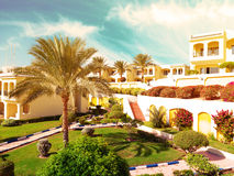 Hotel in Egypt Royalty Free Stock Photo