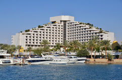 Hotel in Eilat city Stock Images