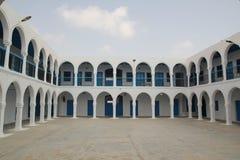 Hotel at El-Grib`s Synagogue royalty free stock images