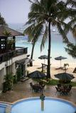 Hotel em Boracay imagens de stock royalty free