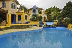 Hotel em Equador fotografia de stock