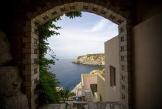 Hotel em Greece fotografia de stock royalty free