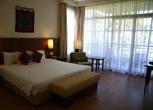Hotel em Hoian, Vietnam do quarto Fotos de Stock Royalty Free