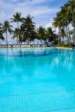 Hotel em Tailândia na costa de Imagem de Stock