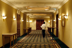 Hotel employment Stock Photography