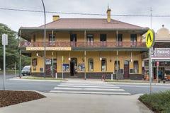 Hotel en Braidwood, NSW, Australia Imagen de archivo