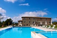 Hotel en Corciano - Perugia Foto de archivo