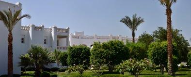 Hotel en Egipto Imagen de archivo