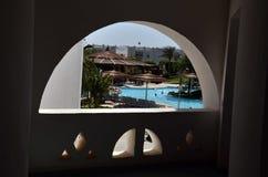 Hotel en Egipto Foto de archivo