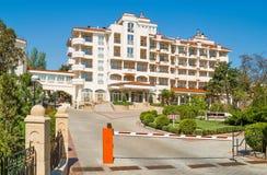 Hotel en Feodosiya, Crimea, Ucrania Fotografía de archivo libre de regalías