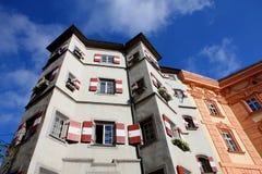 Hotel en Innsbruck 2011 imagenes de archivo