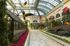 Hotel en Las Vegas, nanovoltio de Bellagio el 18 de mayo de 2013 Imágenes de archivo libres de regalías