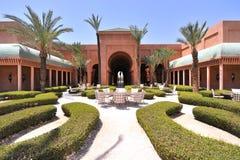 Hotel en Marrakesh, Marruecos Foto de archivo