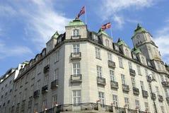 Hotel en Oslo, Noruega Foto de archivo libre de regalías