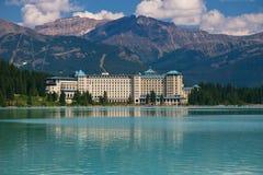 Hotel en Rockies Fotografía de archivo libre de regalías