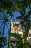 Hotel en Sevilla, hotel de Alfonso 13 del trece de Alfonso Foto de archivo libre de regalías