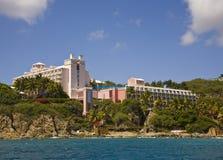 Hotel en St. Thomas Imagenes de archivo