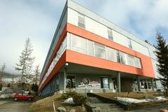 Hotel en Stary Smokovec. Foto de archivo libre de regalías