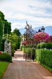 Hotel en Stresa en el lago Maggiore, Italia imagen de archivo