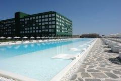 Hotel en Turquía Fotografía de archivo libre de regalías