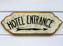 Hotel Enterance Royalty Free Stock Photo