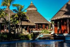 Hotel-Erholungsort Mauricio stockfotos