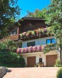 hotel Erholungsort Portschach morgens Worthersee Österreich Stockfotos