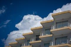 Hotel español fotografía de archivo