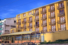 Hotel Estelar del Titicaca in Copacabana, Bolivië Royalty-vrije Stock Fotografie