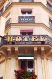 Hotel europeo imágenes de archivo libres de regalías