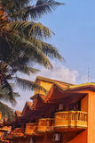 Hotel Exterior in Goa Royalty Free Stock Image