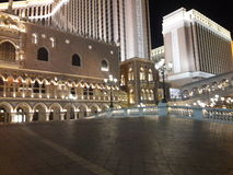 Hotel exterior venetian imagem de stock royalty free
