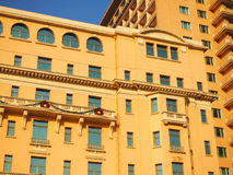 Hotel Facade and Roof Stock Photography