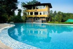 Hotel of facilities and beauty Royalty Free Stock Photos