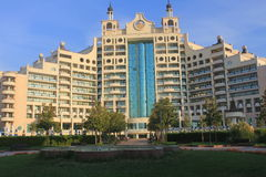 Hotel facilities in Pomorie, Bulgaria Royalty Free Stock Photos