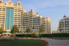 Hotel facilities in Pomorie, Bulgaria Stock Image