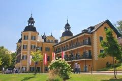 Hotel Falkensteiner Schlosshotel Velden Recurso Velden am Worthe Imagem de Stock Royalty Free