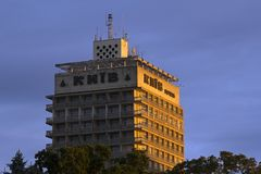 Hotel famoso Kiev Fotos de Stock