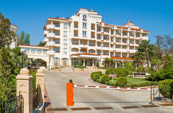 Hotel in Feodosiya, Crimea, Ukraine Royalty Free Stock Photography