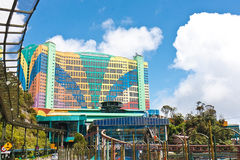 Hotel First World at Genting Highlands. Highest and the biggest Hotel of Genting Highlands (6118 rooms) which is the most visited tourist spot and the unique stock photo